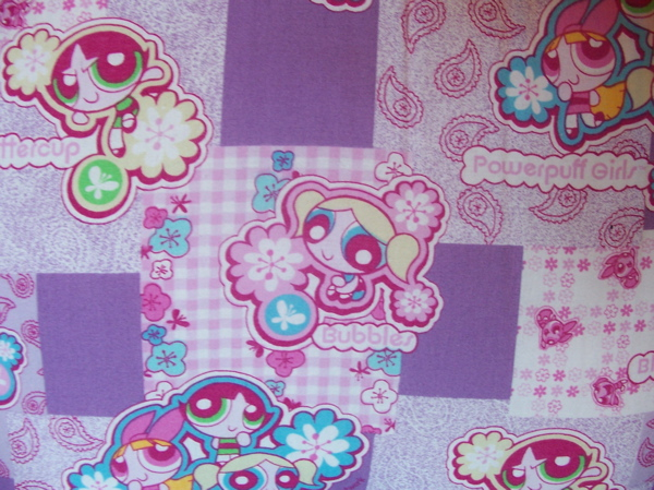 Power Puff Girls Fabrics